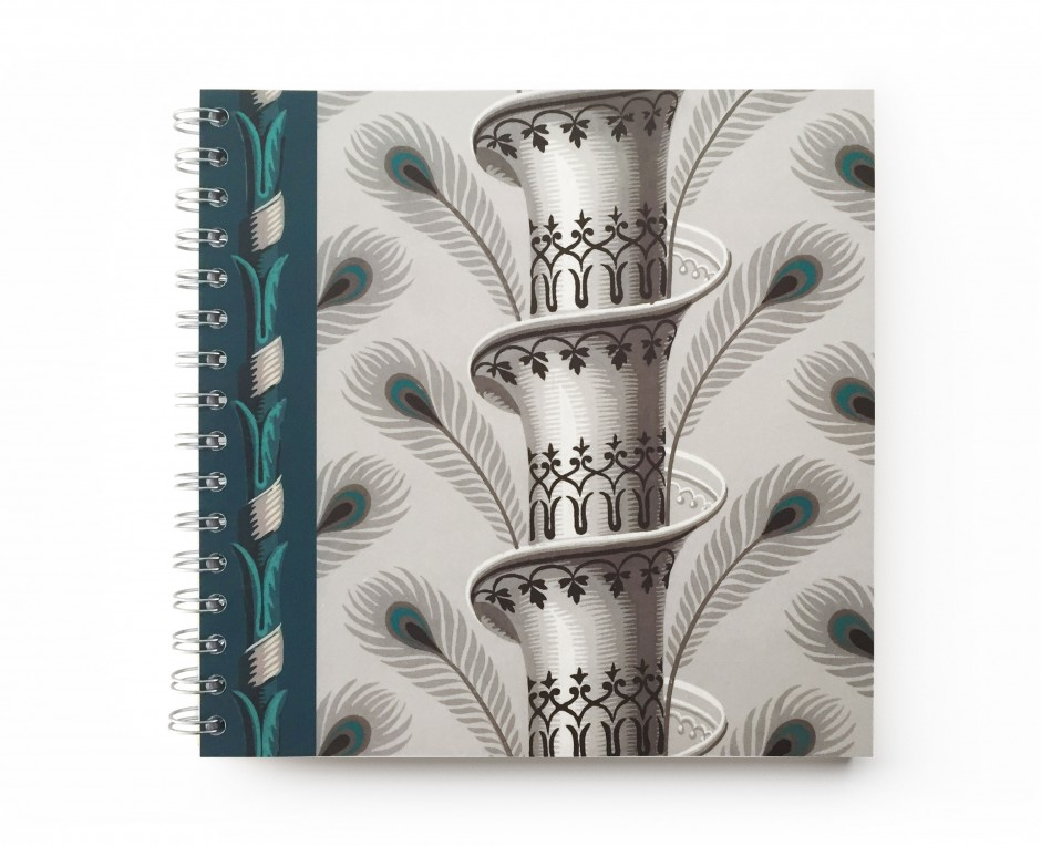 Spirale Notebook . Peacock feather . 1803 - - Le Grand Siècle