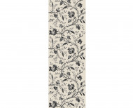Domino wallpaper Indians black & white . 1799