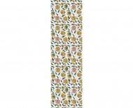 Domino wallpaper poppy . 1750