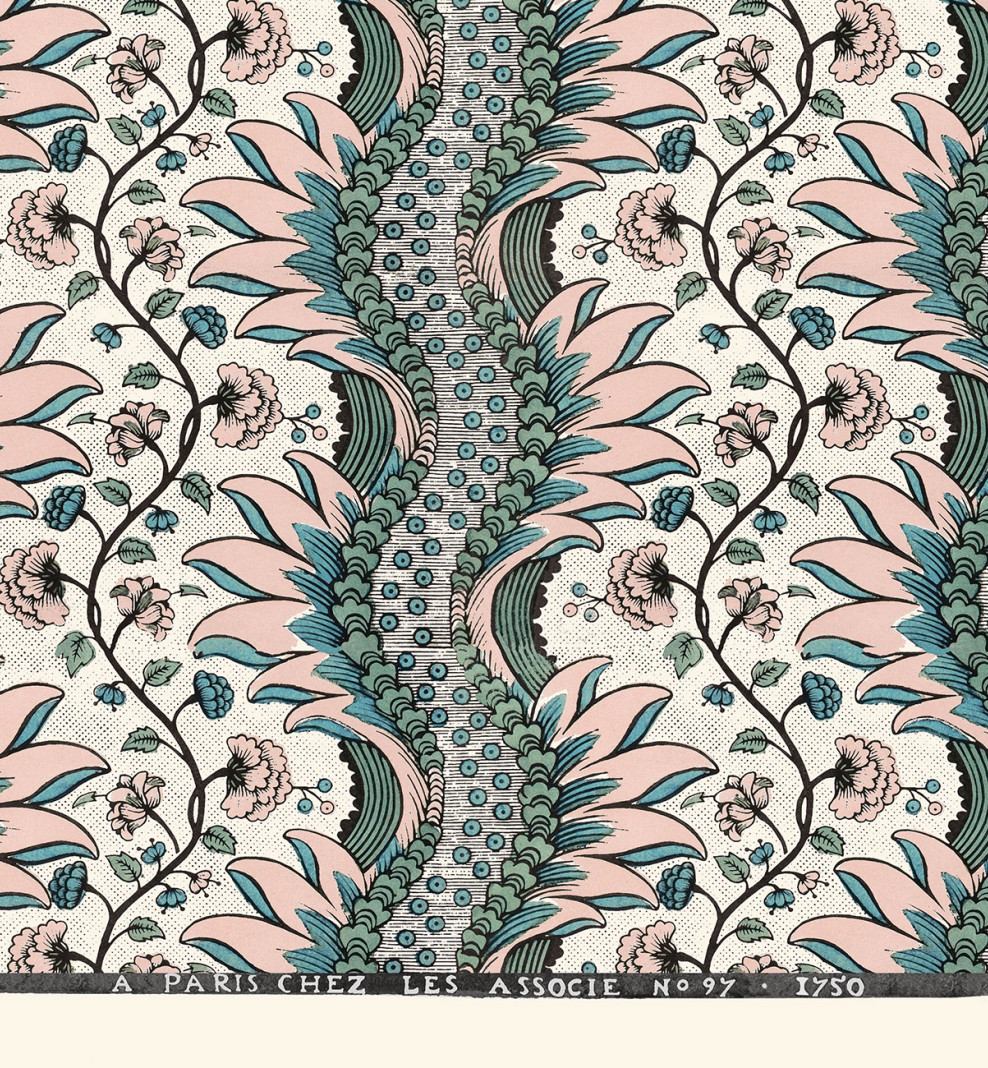 Domino sheet blush Carnations A3 . 1750