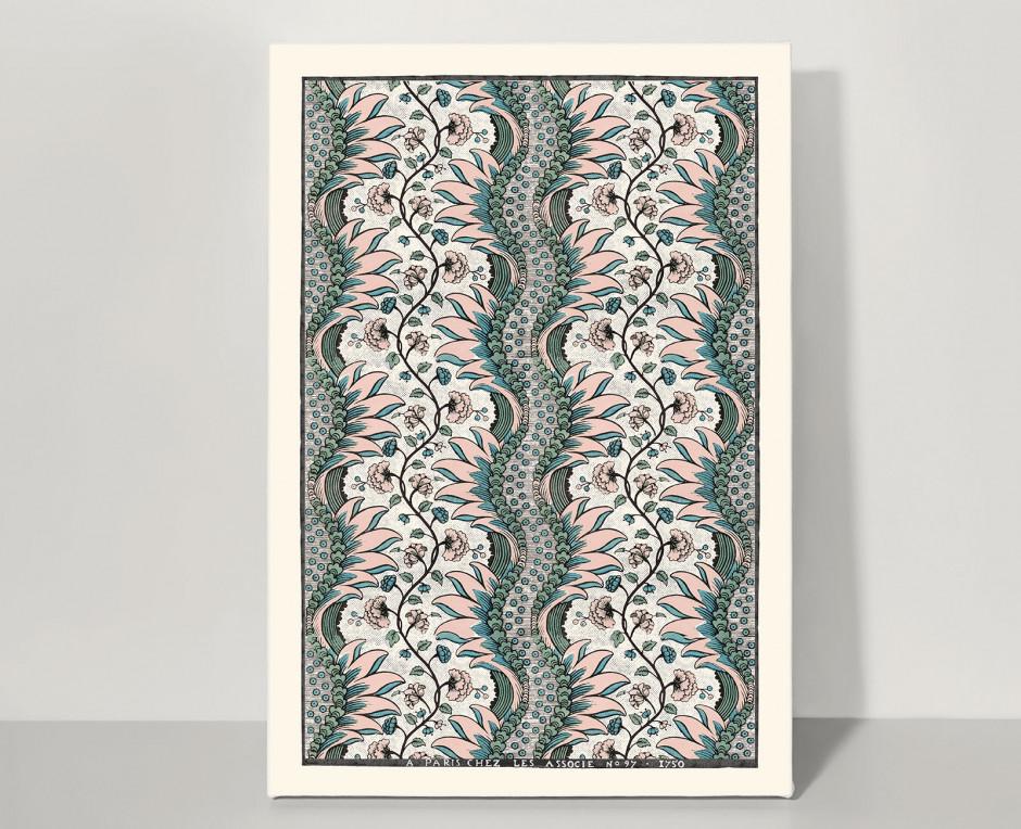 Domino board blush Carnations A3 . 1750
