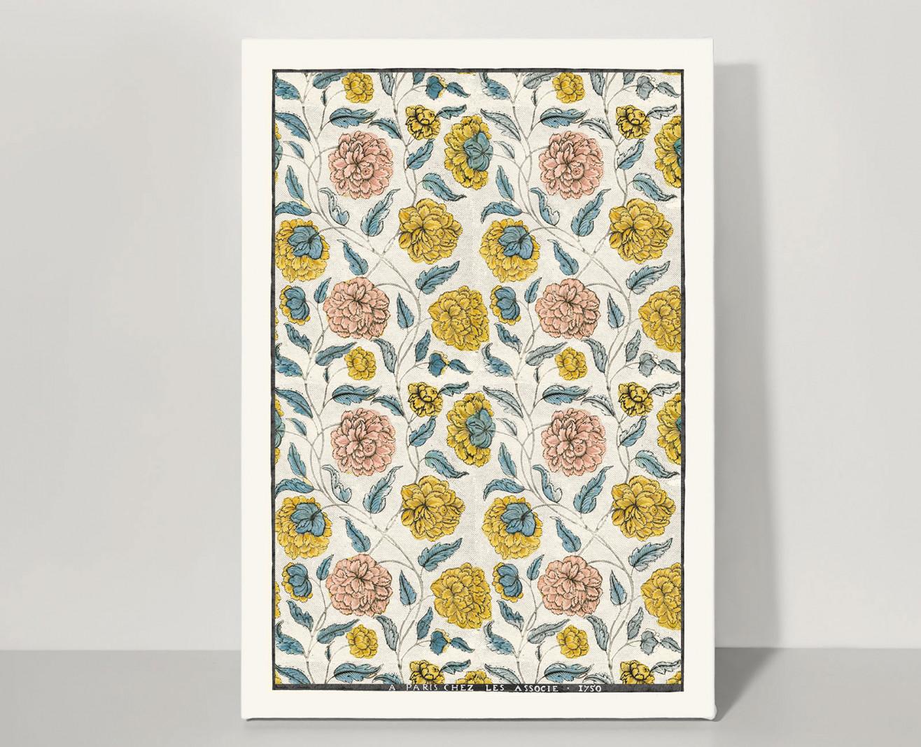 Domino board Poppy A3 . 1750