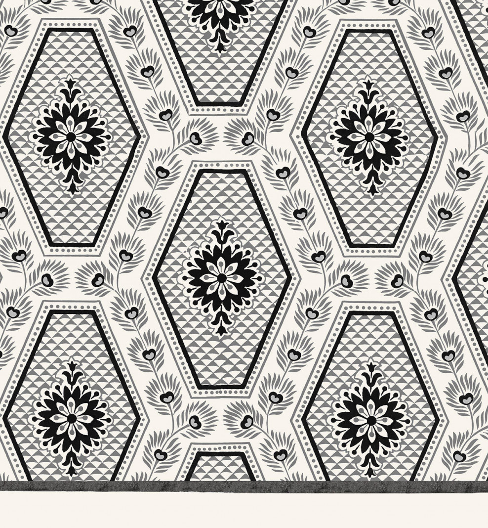 Domino board grey diamonds A3 . 1799