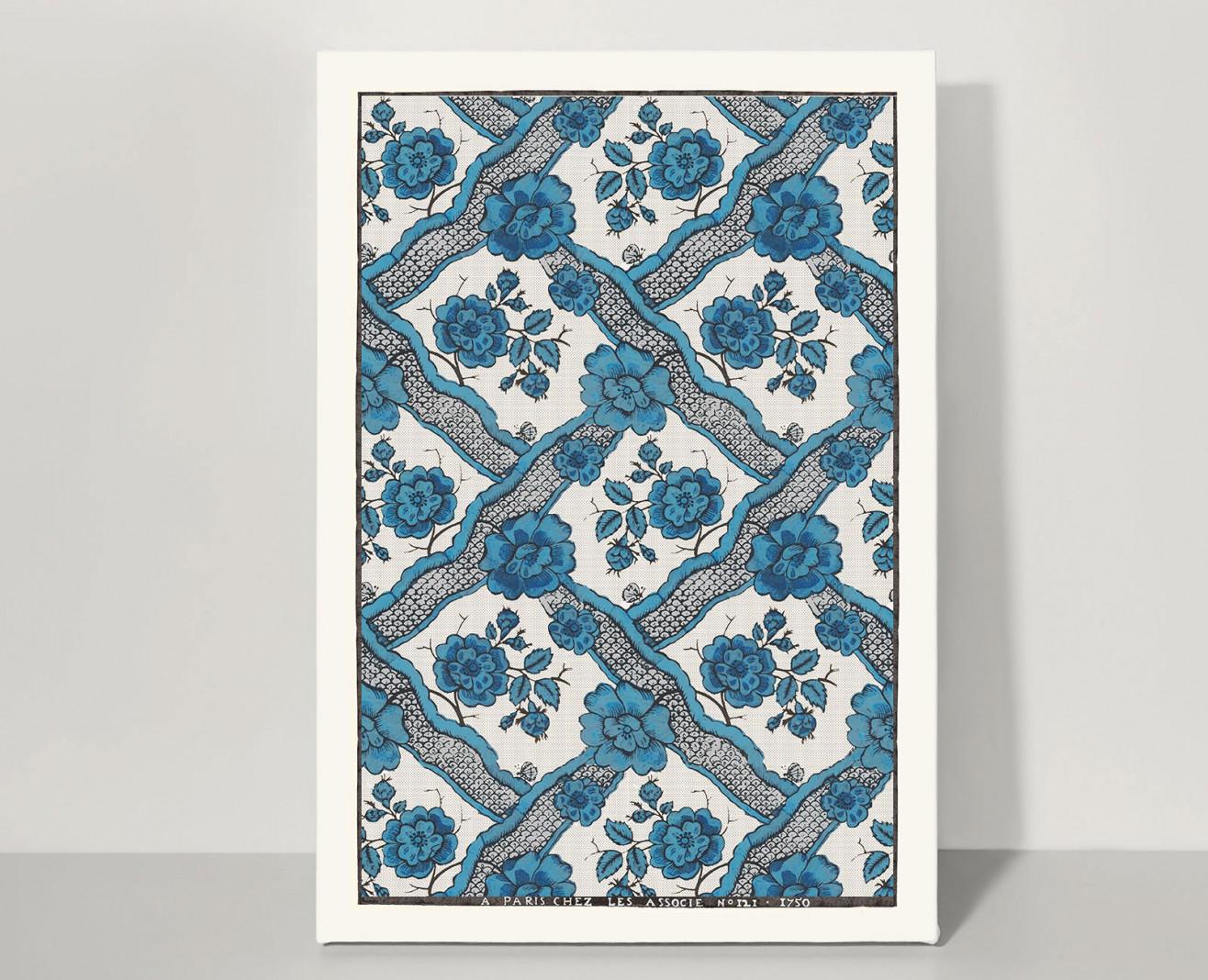 Domino board blue ribbons A3 . 1750