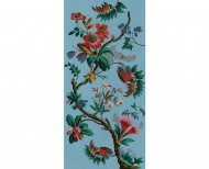 Decorative wallpaper Fancy flowers . 1799